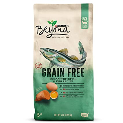 Purina Beyond Cat Food >> Amazon Com Purina Beyond Grain Free Natural Ocean Whitefish Egg