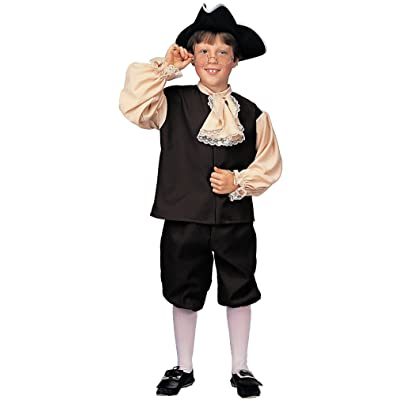 Rubie's Deluxe Child's Colonial Boy Costume, Large: Toys & Games