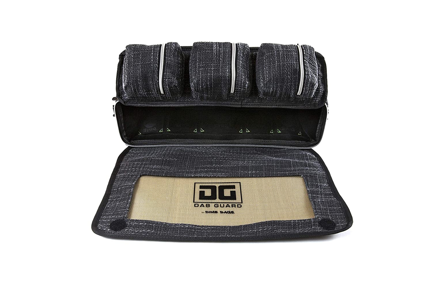 Black The Bully Heavy Duty Padded Pipe//Piece Shoulder Bag /& Silicone Mat