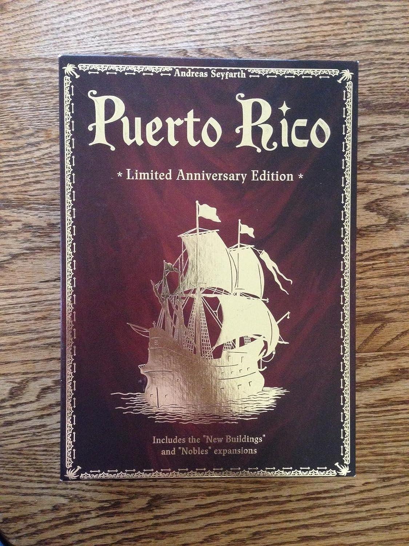 Puerto Rico LTD Anniversary Edition by Rio Grande Games: Amazon.es ...