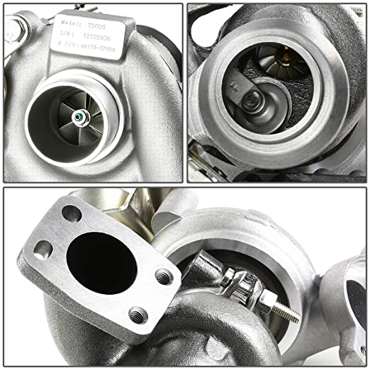 Amazon.com: For Ford/Fiat/Citroen/Peugeot/Volvo TD025 Turbocharger with Internal Wastegate Turbine A/R .35: Automotive
