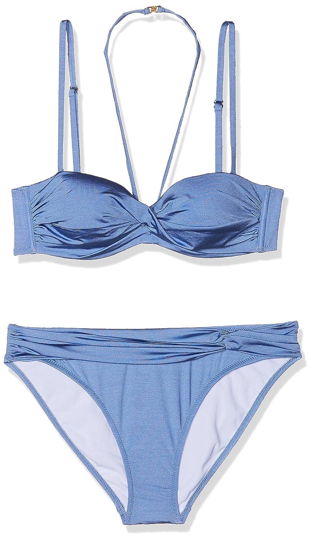 Lascana Damen B/ügel-Bandeau-Bikini Bikinioberteil