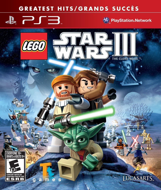 amazon com lego star wars iii the clone wars playstation 3