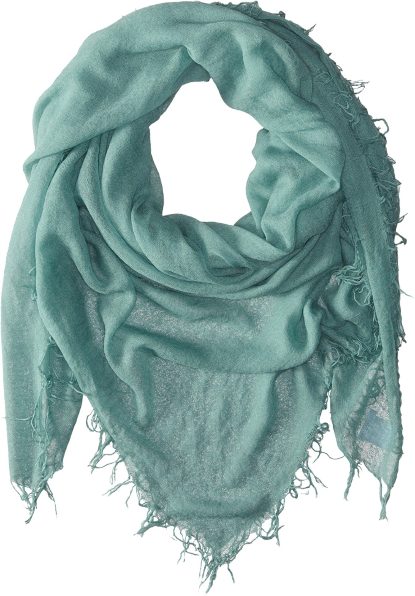Chan Luu Women's Cashmere and Silk Scarf Mineral Blue One Size