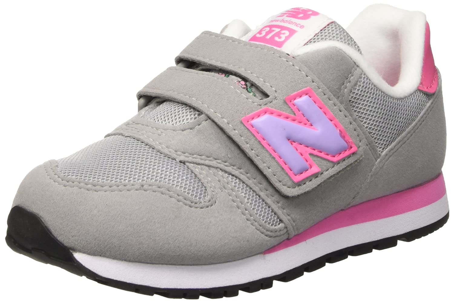 New Balance Nbkv373flp, Gymnastique Mixte Adulte Jaune (Grey Pink) Taille 34 1/2
