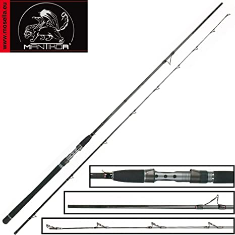 Mantikor Power Jig 2,10 m 25 g – Caña de Pescar para Pesca de ...