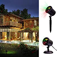 Decolighting Star Laser Christmas Light Show Outdoor Decorations