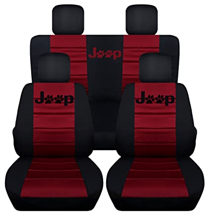 Jeep Seat Covers >> Amazon Com Front And Rear Seat Covers For A 2008 2012 Jeep Liberty