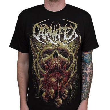 Carnifex Mens Monster Terror T Shirt Black S