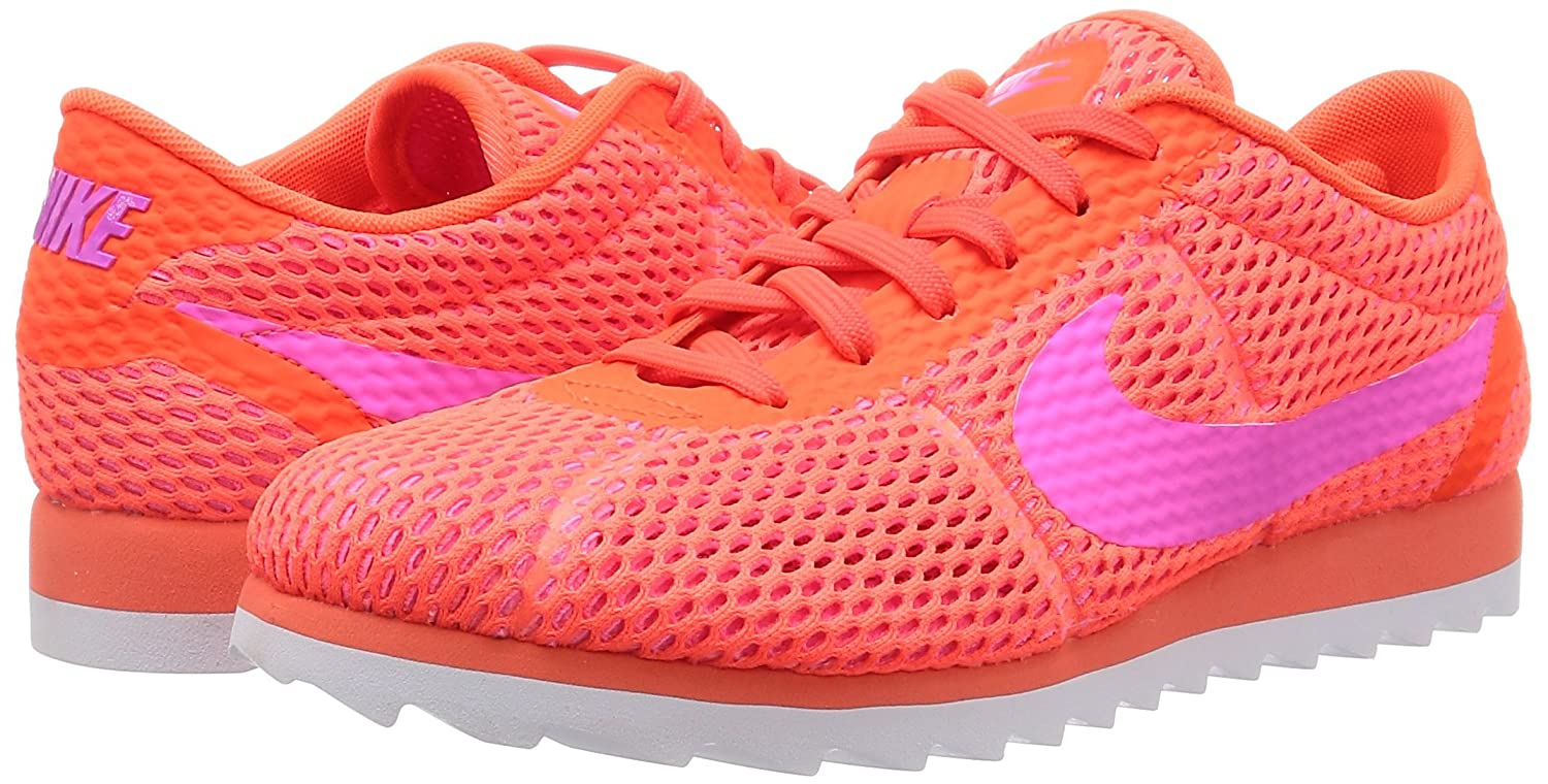 lowest price f3321 c8a9d Nike Womens Cortez Ultra BR Running Trainers 833801 Sneakers Shoes (UK 4.5  US 7 EU 38, Total Crimson Pink Blast White 800)  Amazon.in  Shoes   Handbags