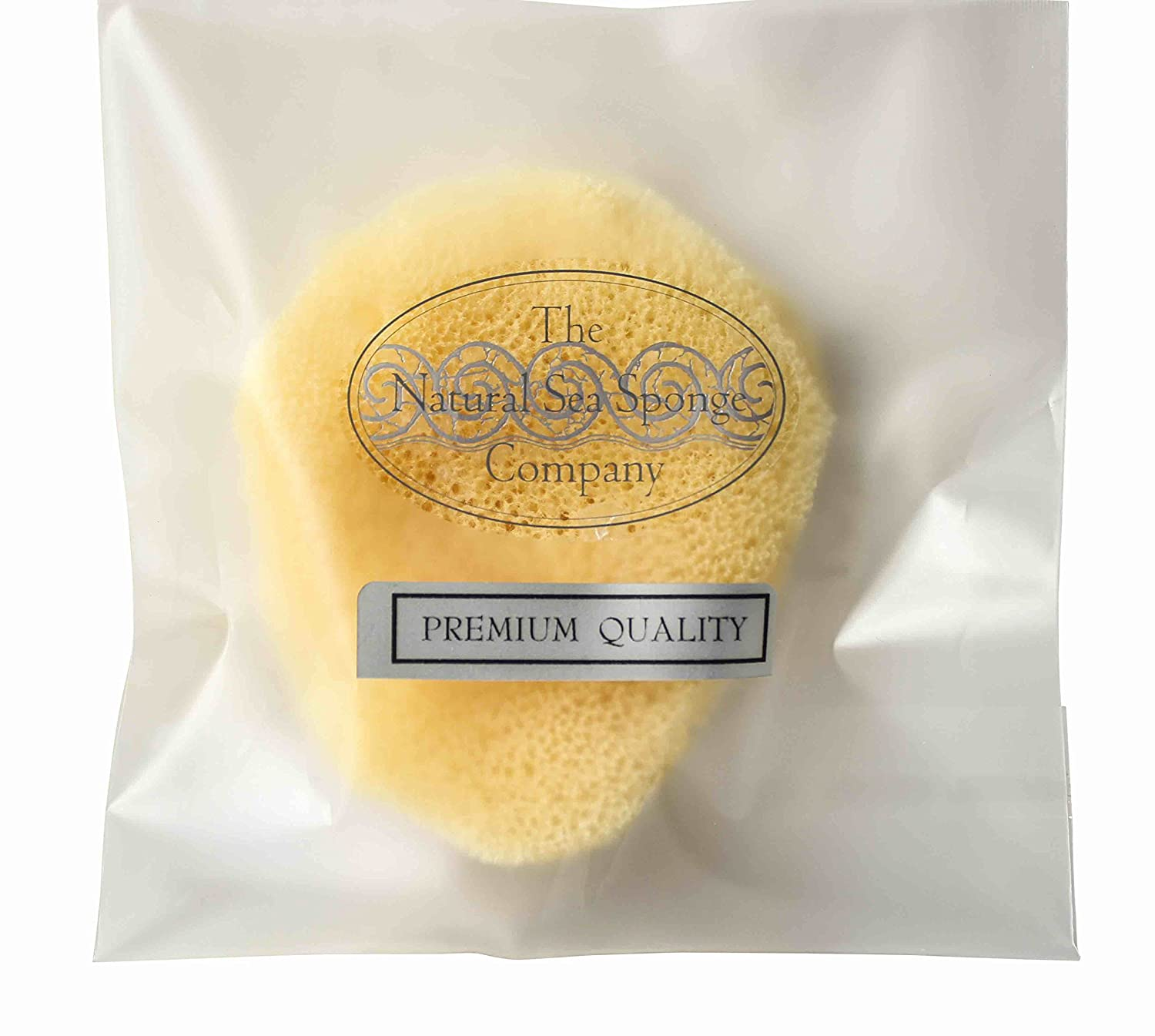 Hydrea London Premium Quality Natural Elephant Ear Bath Sponge, Size 3-3.5 Size 3-3.5