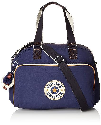 Kipling July Bag Bolsa Tote de Viaje 45 cm, 21 litros, Azul ...