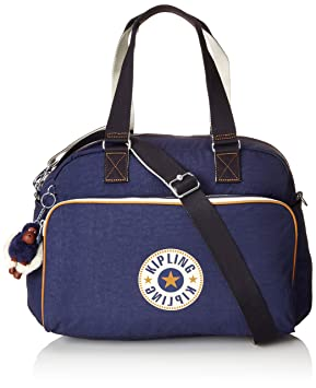 Kipling JULY BAG Bolso de gimnasio, 45 cm, 21 liters, Azul (Active Blue Bl): Amazon.es: Equipaje