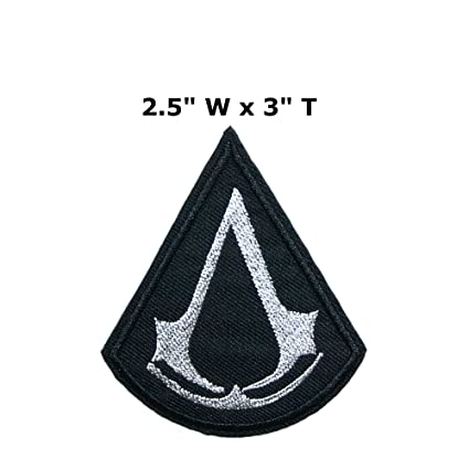 Amazon Assassins Creed Logo 25 X 3 Games Embroidered Sew