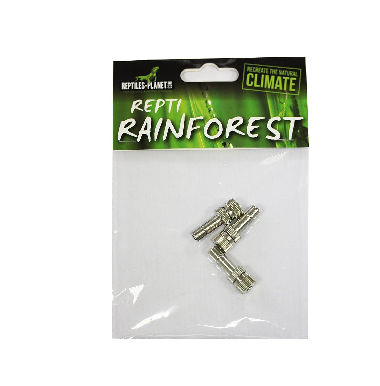 Reptiles Planet 3 Embouts Laiton pour Les Buses Rainforest 875700