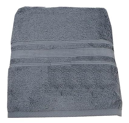 Charisma Hygro Luxury - Toalla de baño (100% algodón, gris, 72