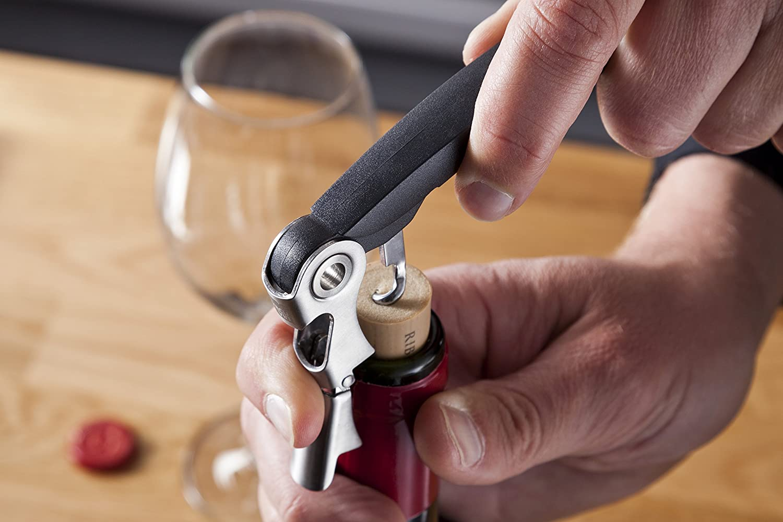 Stainless Steel Vacu Vin 68505606 Waiters Corkscrew