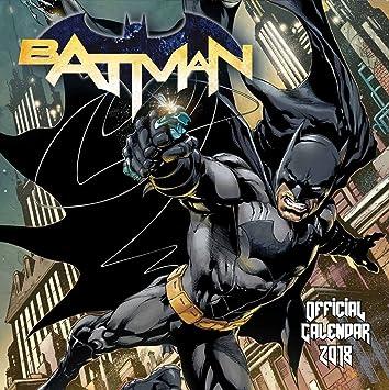 Calendrier Gotham.Calendrier 2018 Batman Film Gotham Dc Comics Arkham