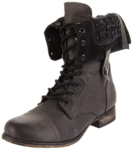 21c9d6e75 Amazon.com | Steve Madden Women's Cablee Lace-Up Boot | Ankle & Bootie