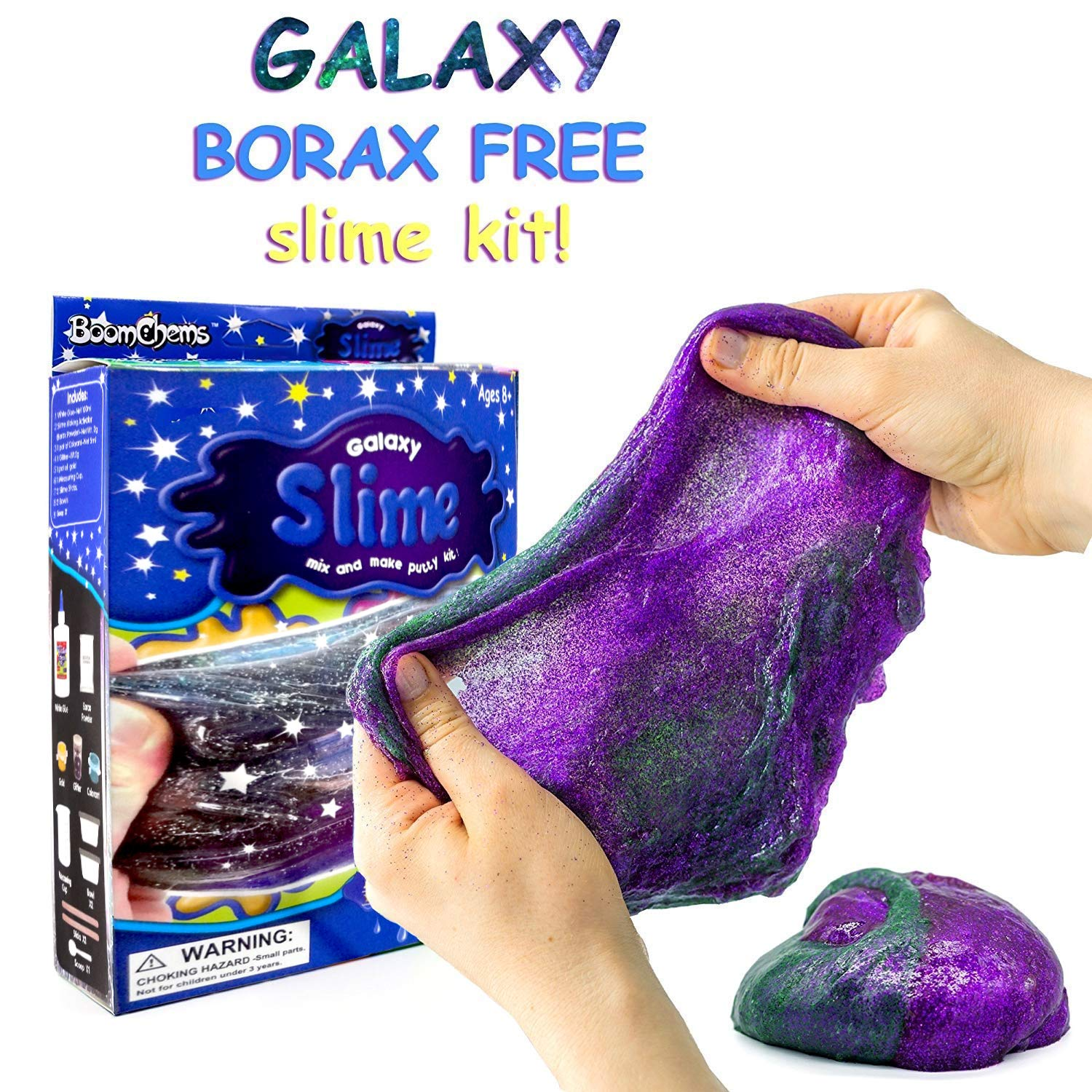 Galaxy Slime Kit Set Of 6 For Return Gifts
