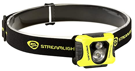 Streamlight 61421 Enduro Pro Headlamp with Alkaline Batteries, Headstrap  White/Red LEDs Box Yellow