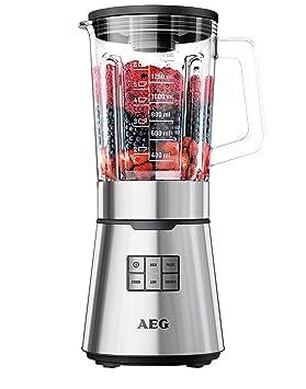 AEG SB 7500 - Licuadora multifunción, 900 W, color plateado: Amazon.es: Hogar