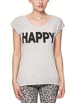 bioshirt Company Yoga para Mujer Camiseta sport - Camiseta de algodón ecológico, todo el año, color gris, tamaño extra-large: Amazon.es: Deportes y aire ...