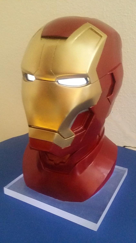 Iron Man Mk. 42 LiveGröße LiveGröße LiveGröße Büste 1:1 Lebensgroß inkl. Beleuchtung 3ddfc6