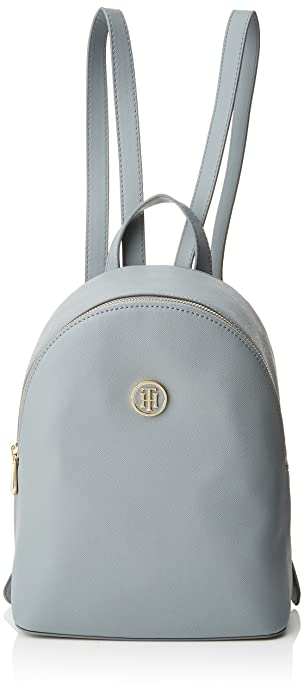 Tommy Hilfiger Honey Mini Backpack, Bolso mochila para Mujer, Azul (Sharkskin) 14x28x21