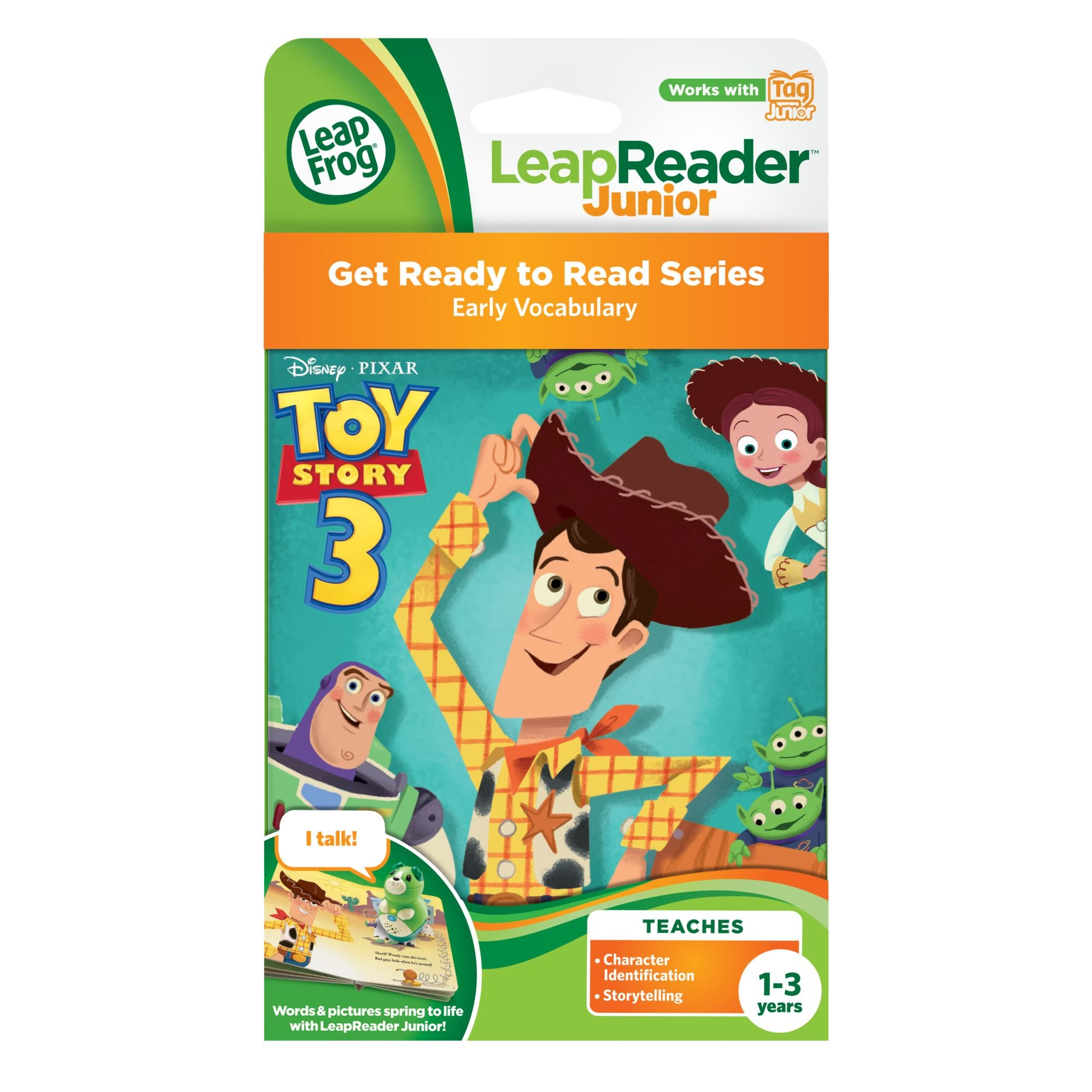 LeapFrog LeapReader Junior Book: DisneyPixar Toy Story 3: To Imagination and Beyond (works with Tag Junior) by LeapFrog (Image #3)