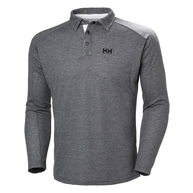 Helly Hansen para Hombre HP Shore LS Rugger Camiseta: Amazon.es ...