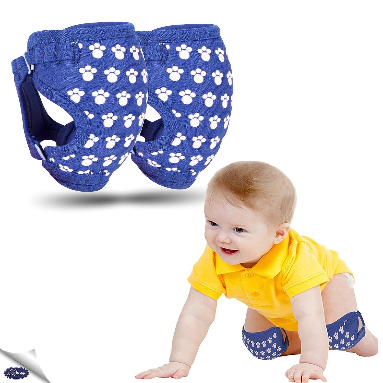 Cute Animal Print Knee Protector Leg Warmer Baby Crawling Anti-slip Knee Pad