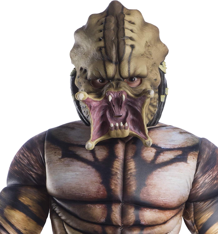 Amazon.com: Rubie s niños Predator máscara disfraz, como se ...