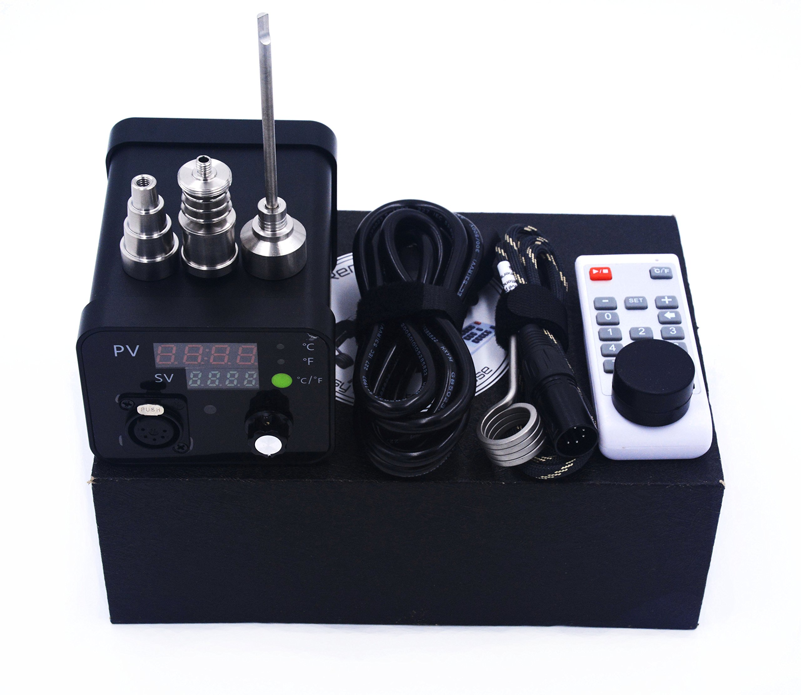 PID Temperature Controller with Titanium Accessories