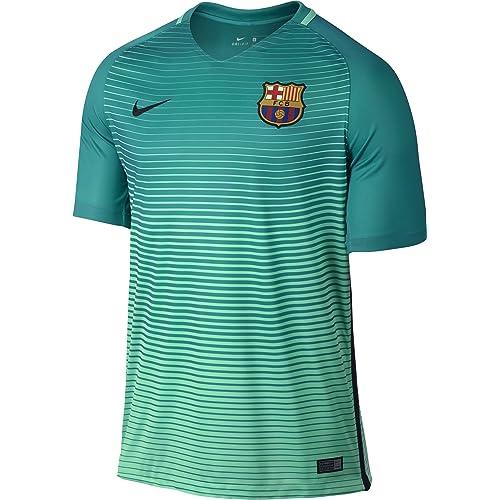 NIKE 2016/17 F.C. Barcelona Stadium Third Mens Soccer Jersey
