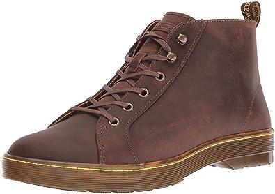 Mens Wilbur Gaucho Crazy Horse Boots, Grey Dr. Martens