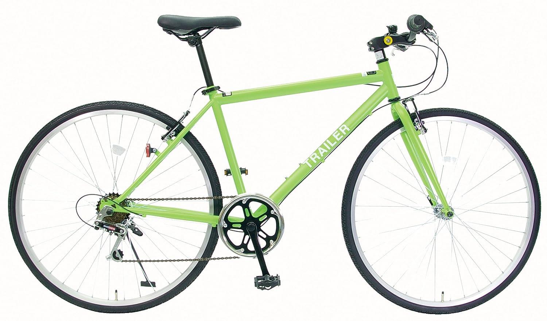 TRAILER(トレイラー) 700Cクロスバイク6段変速 adjustable stem BGC-C70 B0090WCALQ黄緑