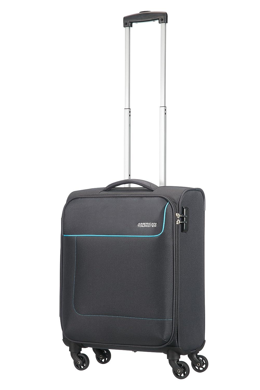 Amazon.com | American Tourister Funshine 4 Roues 55/20 Bagage Cabine, 55 cm, 36 L, Sparkling Graphite | Suitcases