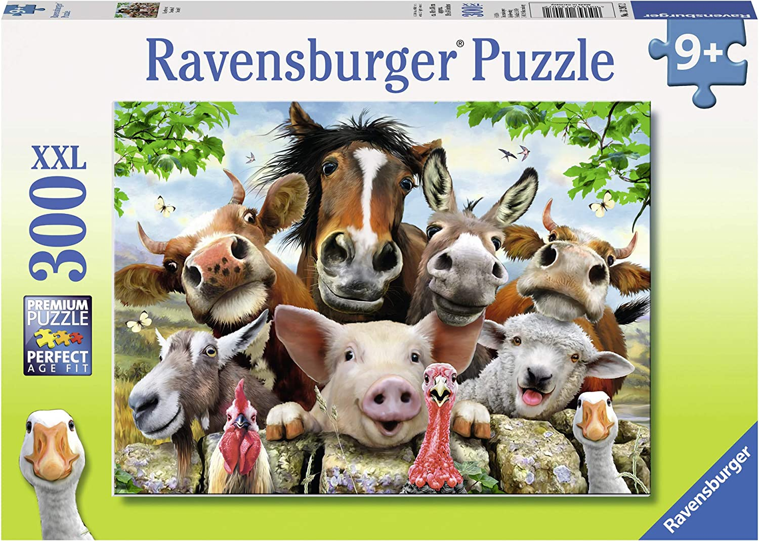Ravensburger Say Cheese! Jigsaw 100 Piece Jigsaw Puzzle for Kids – Every Piece is Unique, Pieces Fit Together Perfectly