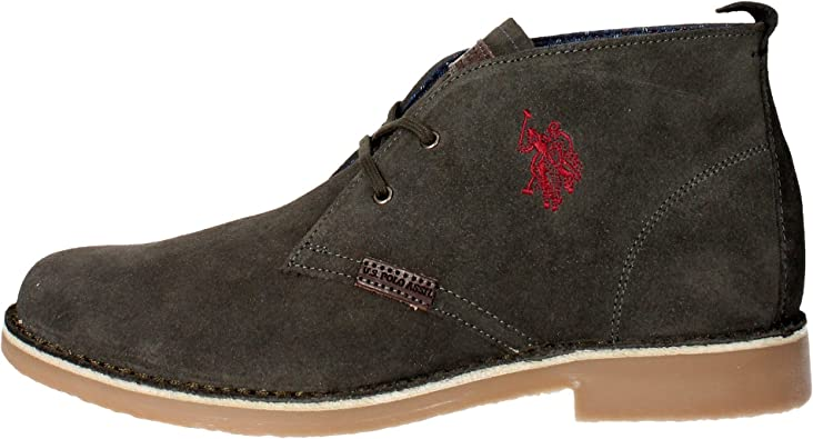 Botas US POLO ASSN Amadeus-10 - Color - GRIS, Talla - 44: Amazon ...