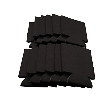 Amazon.com: CSBD - Aisladores de latas de color negro para ...