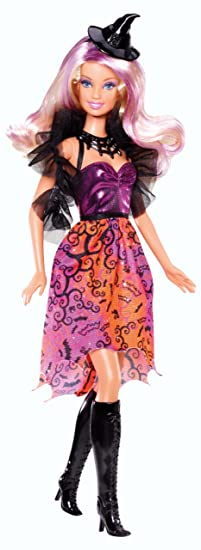 amazoncom mattel barbie 2013 halloween barbie doll toys games