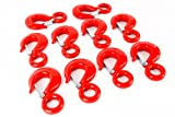 Red Hound Auto 10 Alloy Eye Hoist Sling Hook with