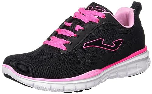 Joma C.Tempo Lady 621 Negro-Fucsia - Zapatillas de Deporte Mujer: Amazon.es: Zapatos y complementos