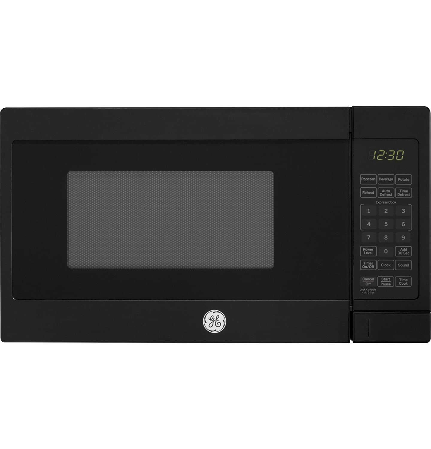 GE APPLIANCES JES1072DMBB 0.7CUFT Black Countertop Microwave 0.7-Cubic Feet