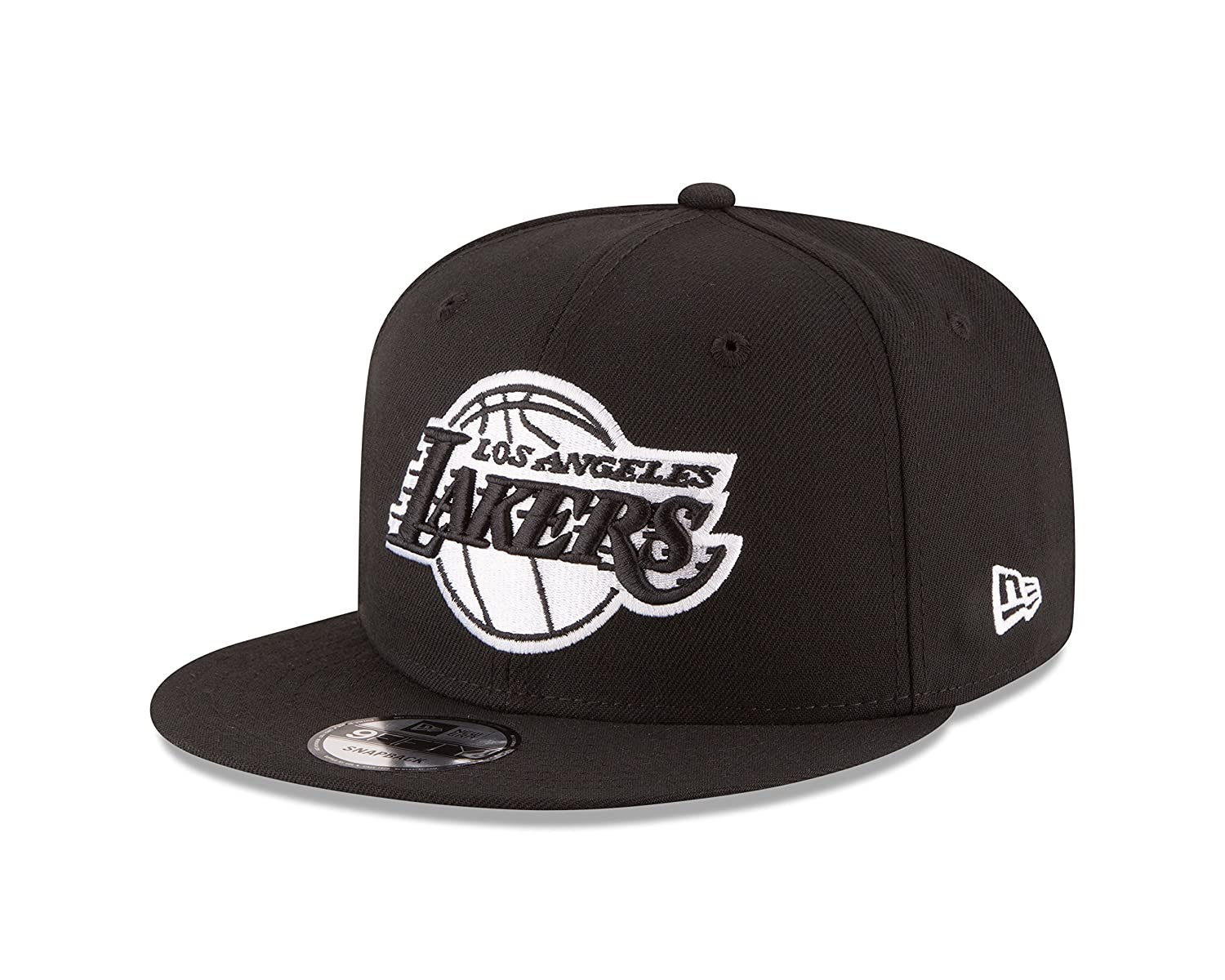 best loved b833b 6b597 Amazon.com   NBA Los Angeles Lakers Men s 9Fifty Snapback Cap, One Size,  Black   Sports   Outdoors