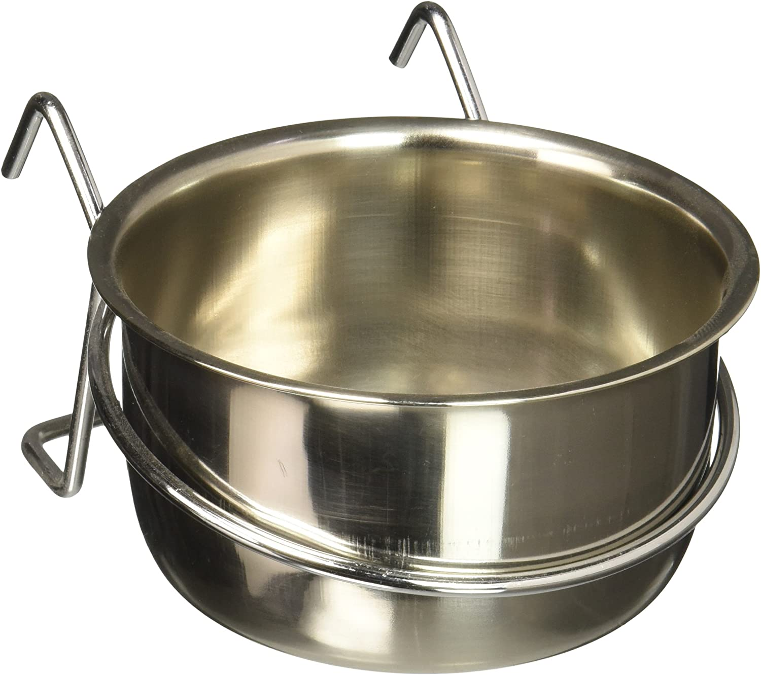 Stainless Steel Coop Cups with Wire Hanger