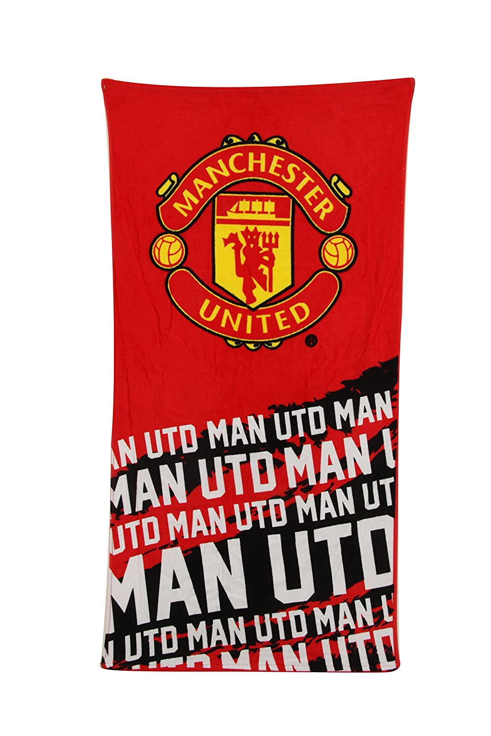 NEW 100% OFFICIAL FOOTBALL CLUB TEAM STRIP TOWELS BEACH BATH GYM SWIM LICENSED (Manchester United 1) 6W-MV3O-MGOV