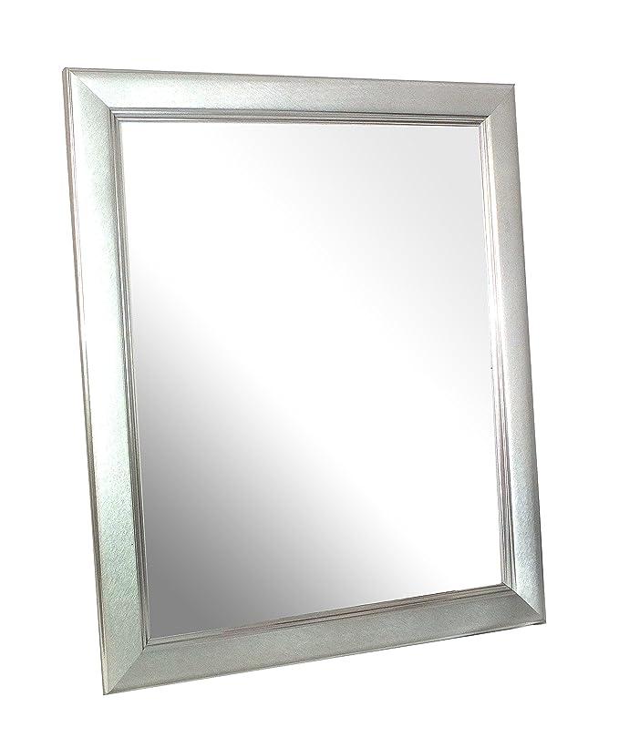 Inov8 Spiegel Rahmen gebürstet groß 20 x 16, 1, Silber: Amazon.de ...