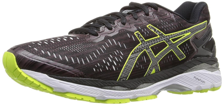 ASICS Men's Gel-Kayano 23 Lite-Show Running Shoe B01ES206VS 6.5 D(M) US Rioja Red/Black/Sulphur Spring